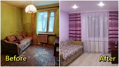 居住環境破又髒 暖心建築工「幫退伍老將翻新住家」通通免錢!