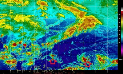 雙熱帶低壓 吳德榮:是否侵台可再觀察