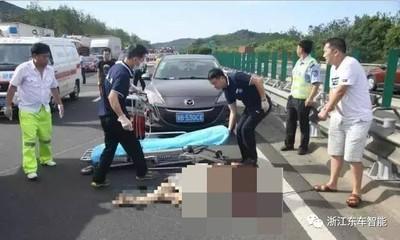 她躺男友腿睡覺 遇車禍遭拋飛慘死