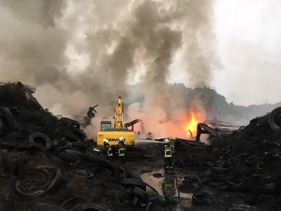后里大火原因9日公布 市府嚴防災害擴大