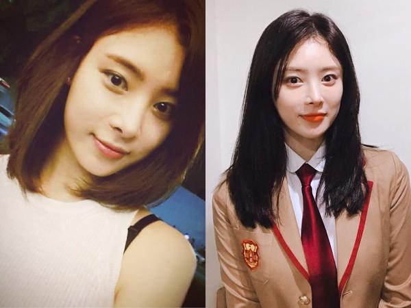 ▲28歲女演員身分被證實了!曾是2010年4人個性女團成員。(圖/翻攝自韓智星IG)