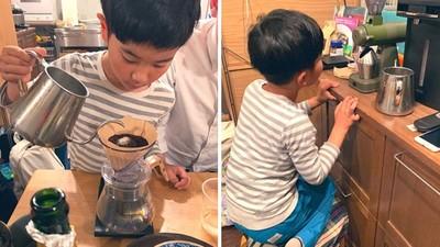 7歲童「借100元」創立咖啡事業!鎖定爸媽的朋友當客群 讓零用錢翻倍漲