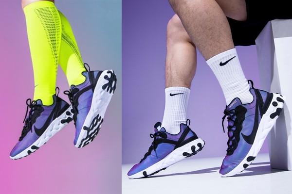 穿NIKE未来感缤纷新鞋超惊艳! 鬼鬼大推:超乎想像舒适