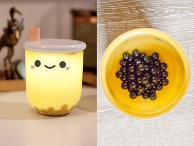 美國「珍珠奶茶夜燈」爆紅!