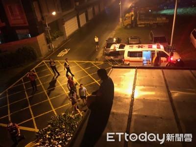 女子欲跳樓輕生 屏警一樓攀爬二樓屋頂救人