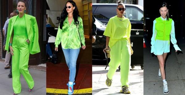 一起把服装颜色调到最亮!5种「萤光穿搭」让你成为街上最潮