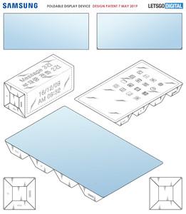三星「4段摺疊」螢幕專利曝光