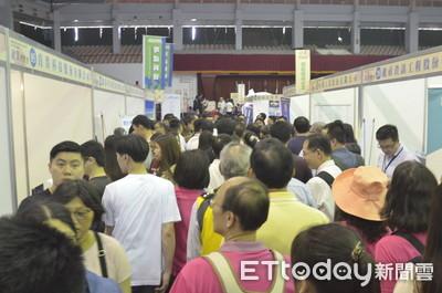 台南就博會逾5000人參與 熱鬧滾滾