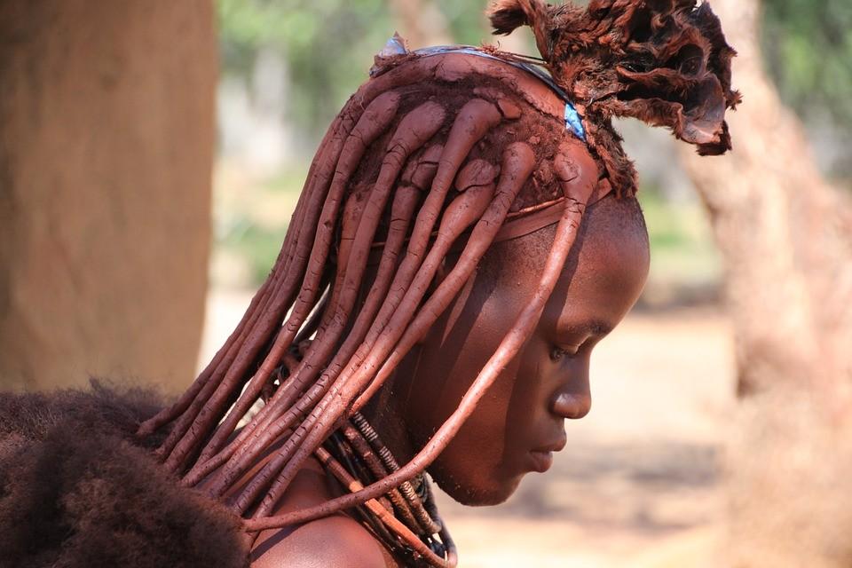 ▲▼辛巴族女性。(圖/取自免費圖庫Pixabay)