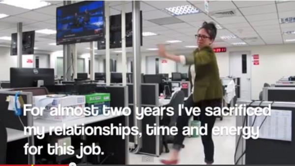台灣老闆太摳了 美女自錄最酷辭職影片破32萬點閱率