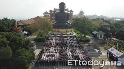 20萬人參與慈濟浴佛 為天下祈安