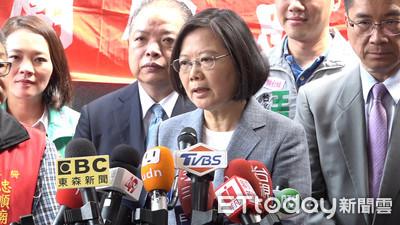 韓國瑜酸權力鬥爭才強悍 蔡英文反擊:捍衛主權我會勇敢站起來