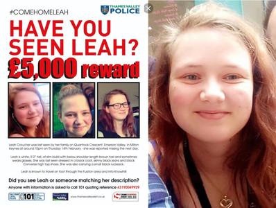 19歲少女失蹤 「她的腳趾」2個月後驚現人行道