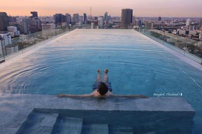 Ean部落閣/曼谷最驚豔的無邊際泳池