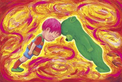 幾米新作品再戰親子「矛盾的愛」