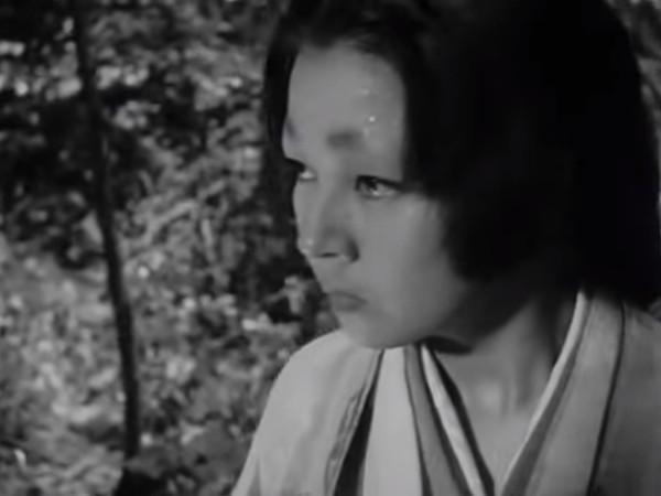 ▲京町子當年在《羅生門》擔任女主角。(圖/翻攝自YouTube)
