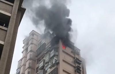 淡水社區大樓燃燒「14」恐怖巧合!網嚇壞