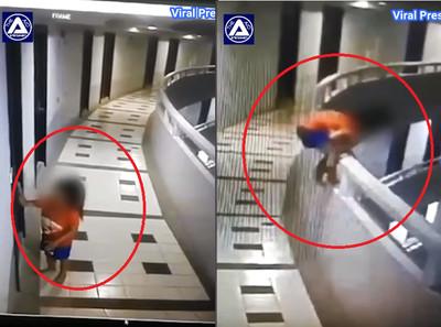 5歲女孩夢遊翻欄杆 向下墜落30m重傷