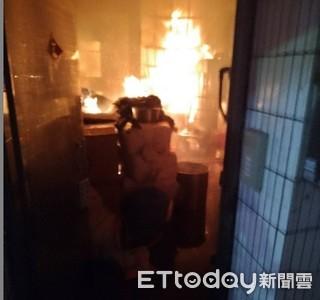 台南永康民宅暗夜火警 搶救2孩童送醫