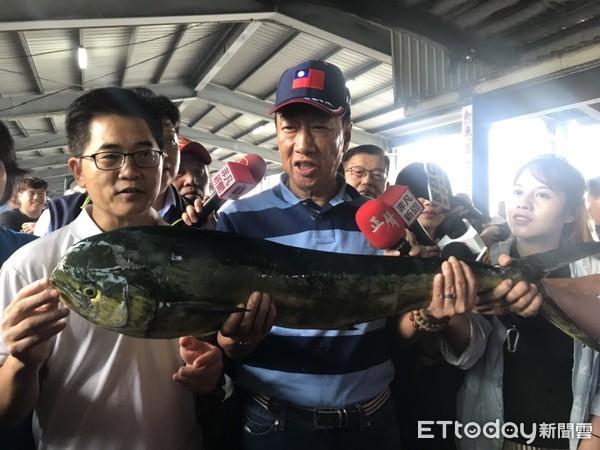 ▲郭台铭成功渔港。(图/记者姚惠茹摄)