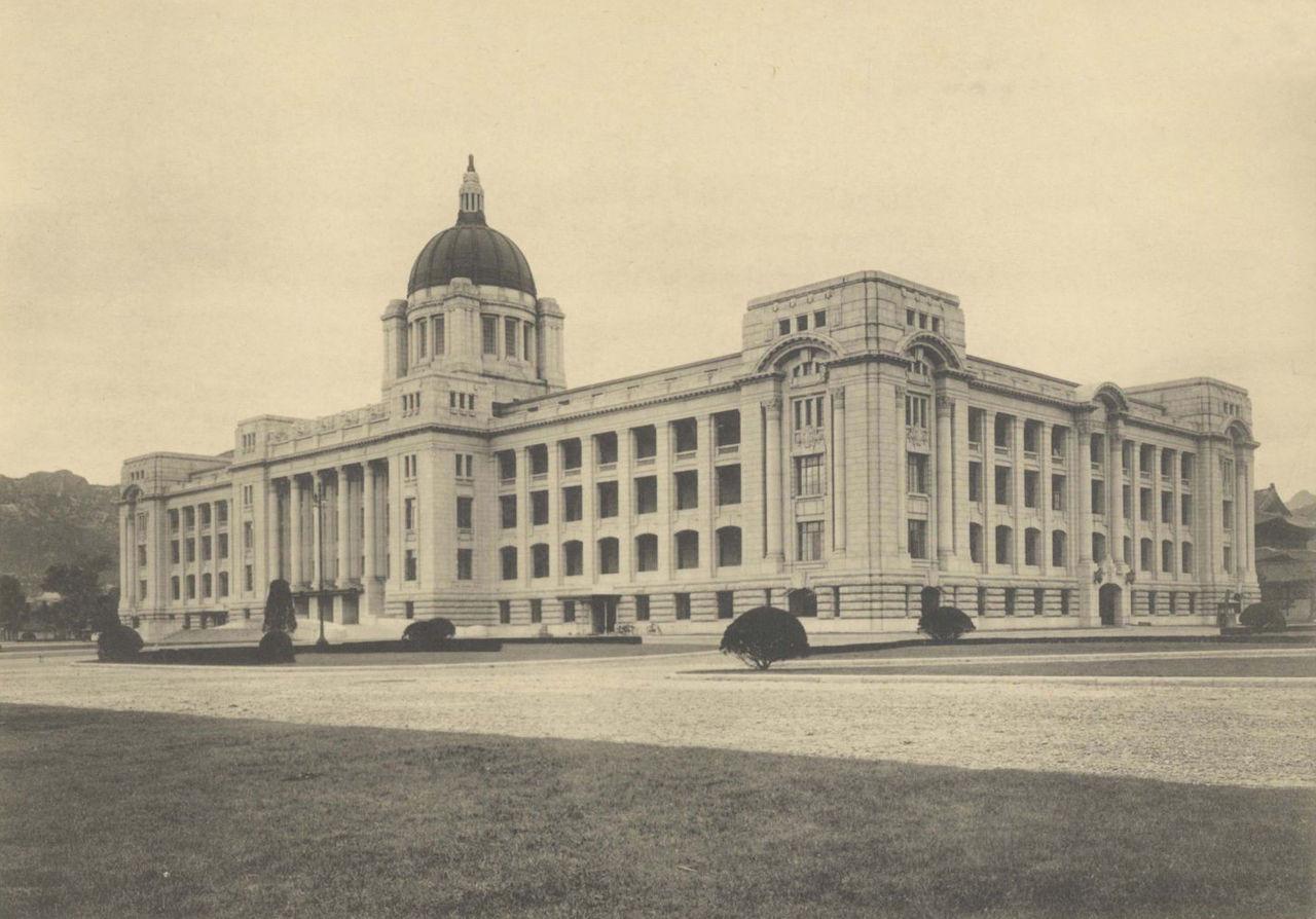 ▲▼景福宮前的朝鮮總督府(圖/翻攝自維基百科)