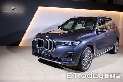 488萬BMW最霸氣休旅車「X7」登台