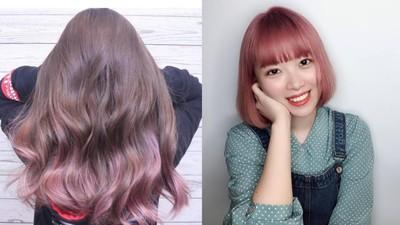 櫻花季過了沒關係! 超唯美「酒粕櫻花髮色」閃耀粉色能迷暈人