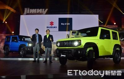 Suzuki全新Jimny在台上市