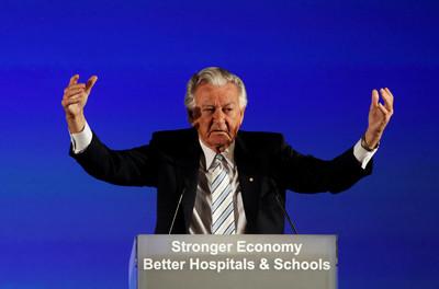澳洲前總理霍克去世 享壽89歲