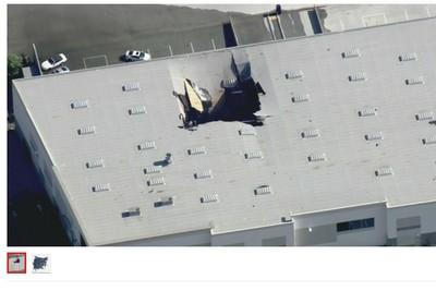 快訊/F-16戰機墜毀加州商業大樓