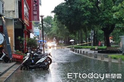 雨彈炸竹、桃!氣象局估午後雨勢趨緩