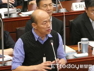 韓國瑜斷言「柯P一定選總統」