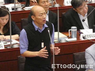 韓國瑜讚高市議員素質相當不錯