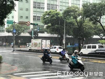 移動性鋒面27日起襲台雨連下3天