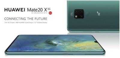 華為佈局英國 發布5G版Mate20