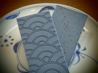 日本推出「藍色辣味巧克力」