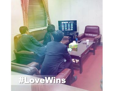 立院表決同婚專法 陳其邁:台北將出現彩虹