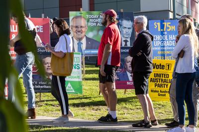澳洲大選登場 氣候議題成關鍵