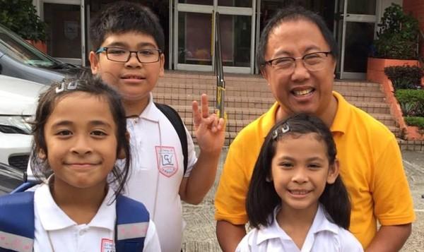 ▲▼香港泛民人士自龍緯汶被發現多張兒童親暱照。(圖/翻攝自龍緯汶 James Lung臉書)