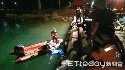 水湳洞釣客嚇呆報警 海巡撈起男屍