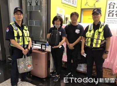 出國護照丟機捷 警方及時送回