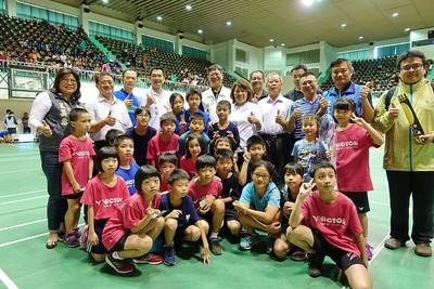 嘉義市市長盃全國羽球錦標賽開打