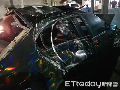 酒駕逃逸撞死人 1人玻璃射瞎眼