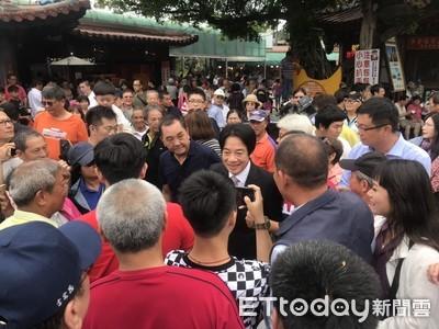 賴清德:發揮土地公精神護台灣