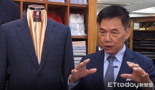 ▲▼紳裝西服董事長李萬進。(圖/記者楊詩益攝)