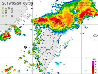 快訊/雙北4小時雨量破200 北北桃基一級淹水警戒