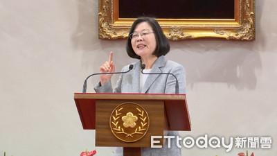 蔡英文:我外交國防兩岸歷練最完整