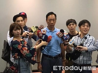 郭台銘批蔡「競選招式不入流」 為賴抱屈