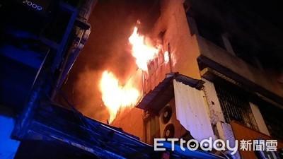 羅東診所樓上燒毀 與新買電視有關?