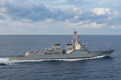 第七艦隊:軍艦駛入南海黃岩島12海里